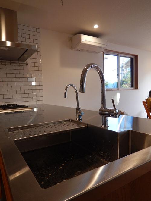 オーダーキッチン ガスオーブンとガゲナウ60cm食洗機をビルトイン 734イメージ-19