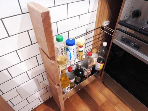 オーダーキッチン ガスオーブンとガゲナウ60cm食洗機をビルトイン 734イメージ-13