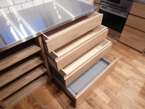 オーダーキッチン ガスオーブンとガゲナウ60cm食洗機をビルトイン 734イメージ-5