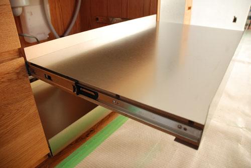 セパレートキッチン ステンレスとオーク材 702イメージ-6