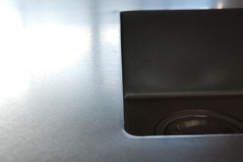 セパレートキッチン ステンレスとオーク材 702イメージ-9