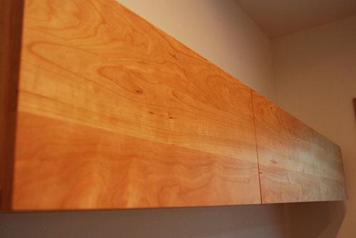 食器棚としてのキッチン背面収納 横長吊戸棚も製作 5059イメージ-8