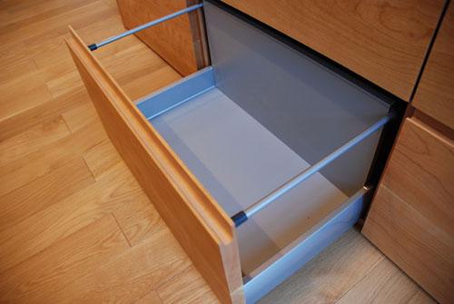 食器棚としてのキッチン背面収納 横長吊戸棚も製作 5059イメージ-5