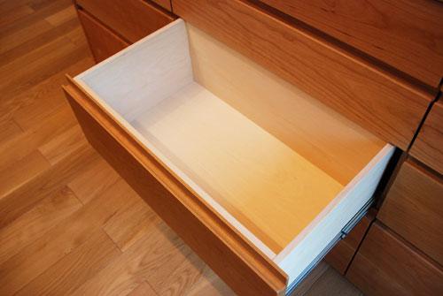 食器棚としてのキッチン背面収納 横長吊戸棚も製作 5059イメージ-6