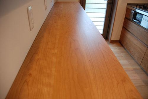 食器棚としてのキッチン背面収納 横長吊戸棚も製作 5059イメージ-7