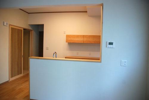 食器棚としてのキッチン背面収納 横長吊戸棚も製作 5059イメージ-11