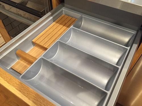 オーダーキッチン ガスオーブンとガゲナウ60cm食洗機をビルトイン 734イメージ-11