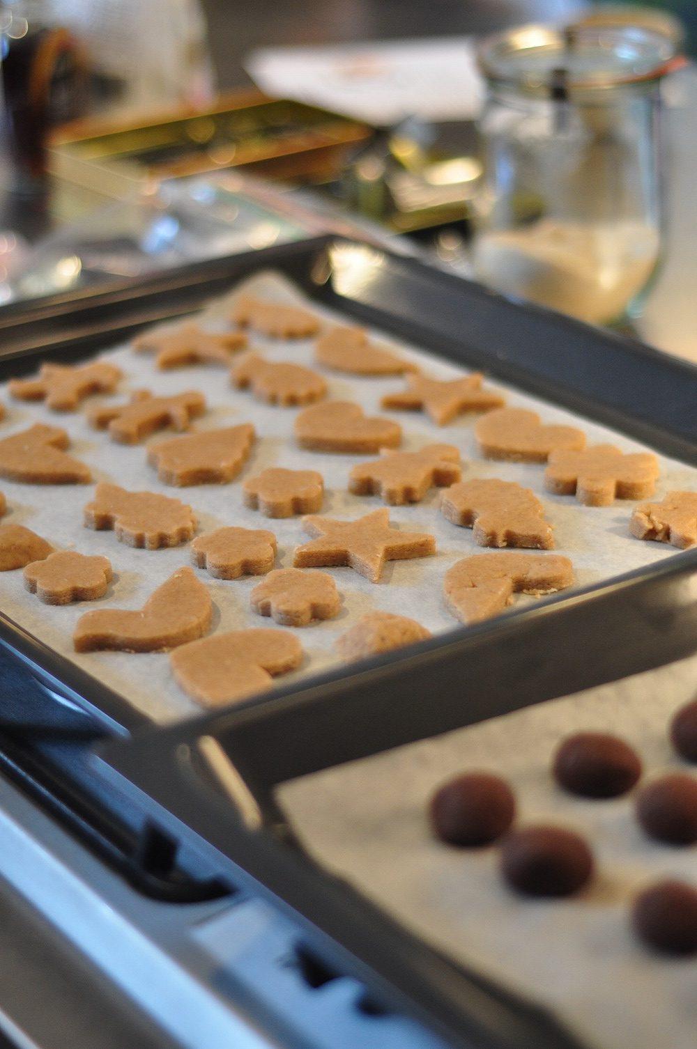 ミーレのオーブンで焼くクッキー