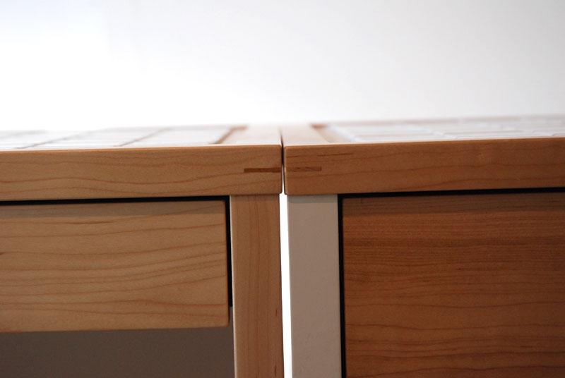 キッチンボード 2分割できるタイル天板仕様 c5044イメージ-2
