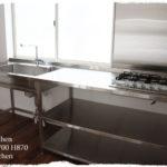 フレームキッチン 棚だけのシンプルタイプ 5022