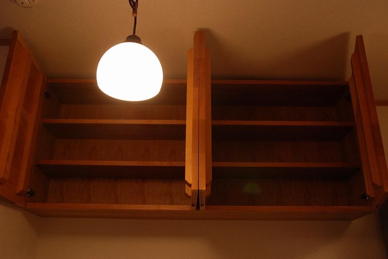吊戸棚とキッチンカウンター収納 771イメージ-5