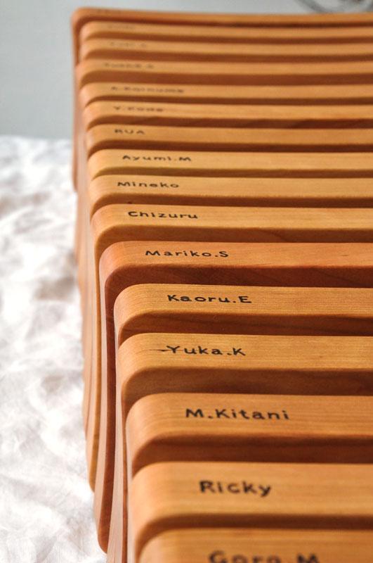 結婚式の引出物 -カッティングボード- 1107