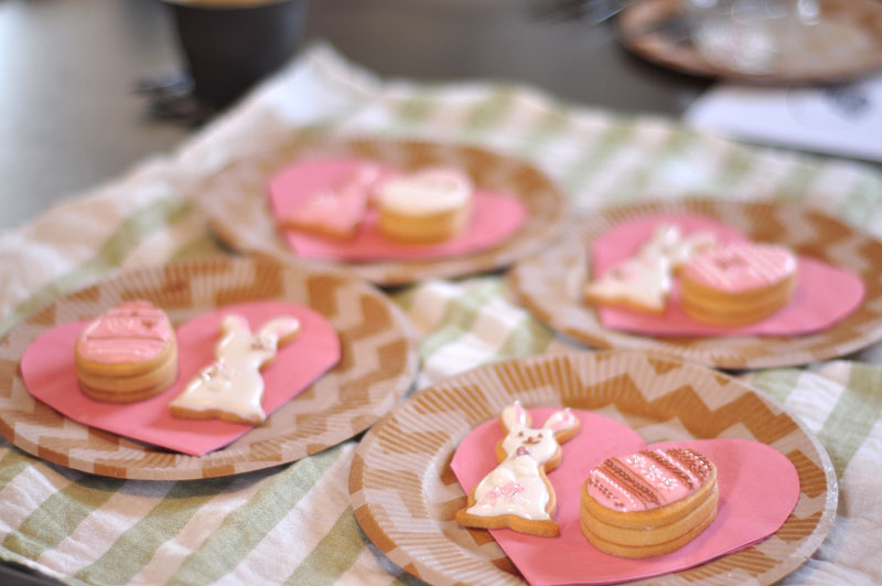 イースターのアイシングクッキー