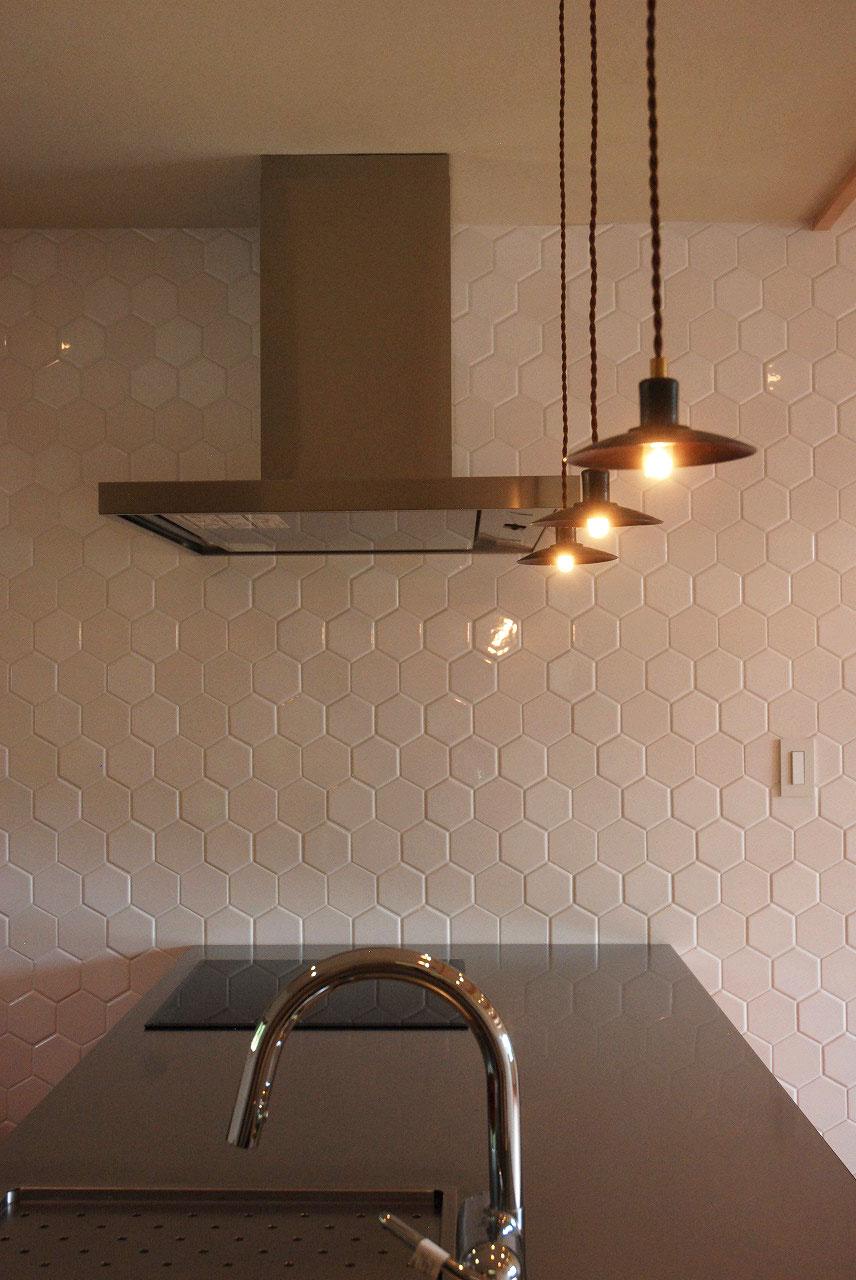 オーダーキッチン チェリーの無垢天板キッチン収納カウンター 740イメージ-13