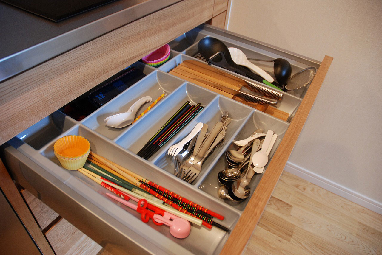 オーダーキッチン ガゲナウ食洗機とAEGのIHクッキングヒーター 730イメージ-4