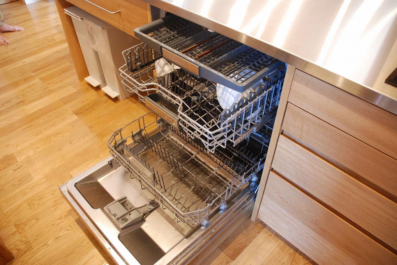 オーダーキッチン ガゲナウ食洗機とAEGのIHクッキングヒーター 730イメージ-6