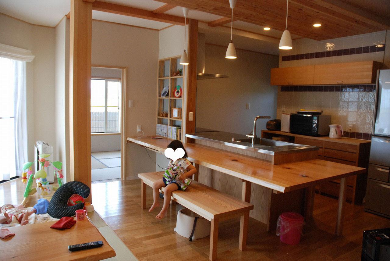 オーダーキッチン ガゲナウ食洗機とAEGのIHクッキングヒーター 730イメージ-7