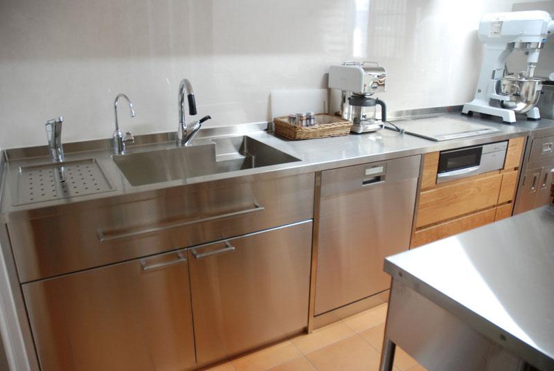 ステンレスキッチン パン教室の厨房 678