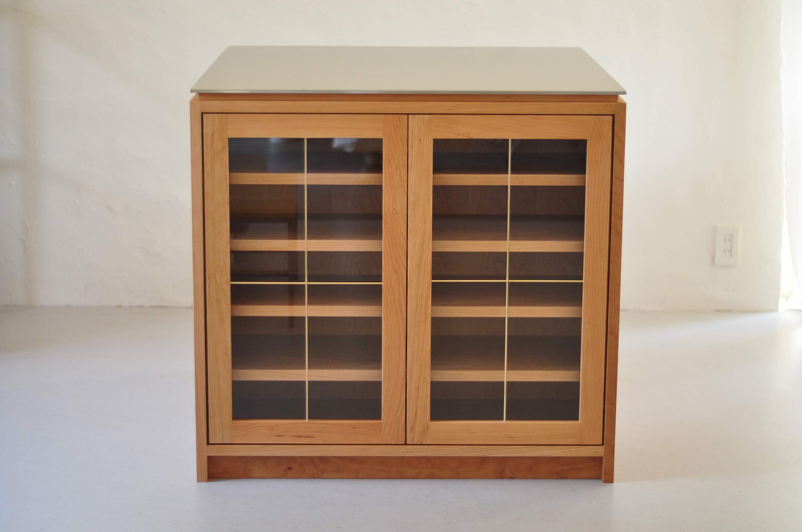 両面づかいのアイランド型作業台・食器棚・カウンター 5023イメージ-8