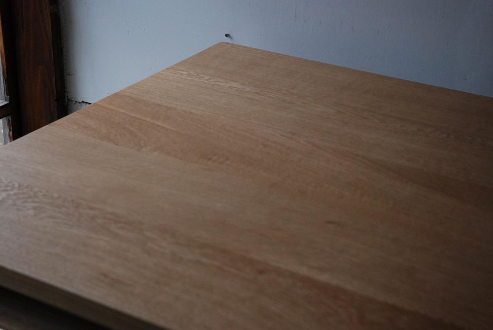 テーブル天板の角を丸くした棚付きダイニングテーブル 3039イメージ-7