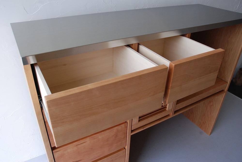 キッチンカウンターのアイランド型 炊飯器とレンジのコンセントも 5061イメージ-5