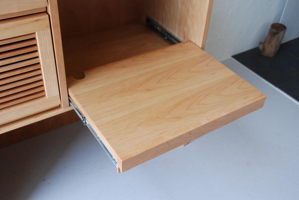 キッチンカウンターのアイランド型 炊飯器とレンジのコンセントも 5061イメージ-11