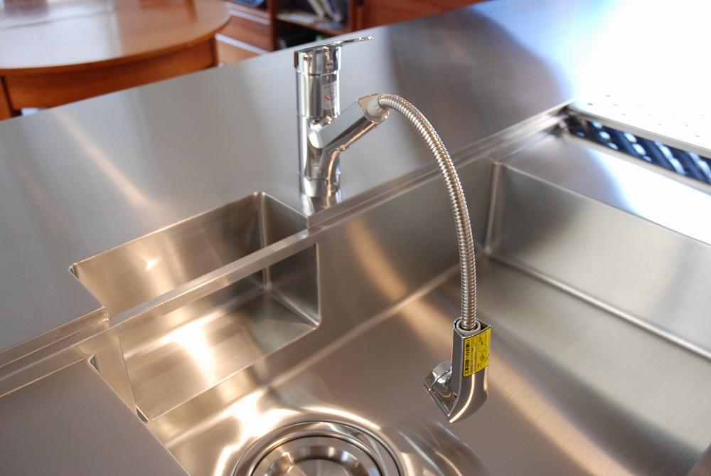 ガゲナウのIHとガスコンロの両方とミーレの電子レンジオーブンのあるキッチンリフォーム no.5062イメージ-8
