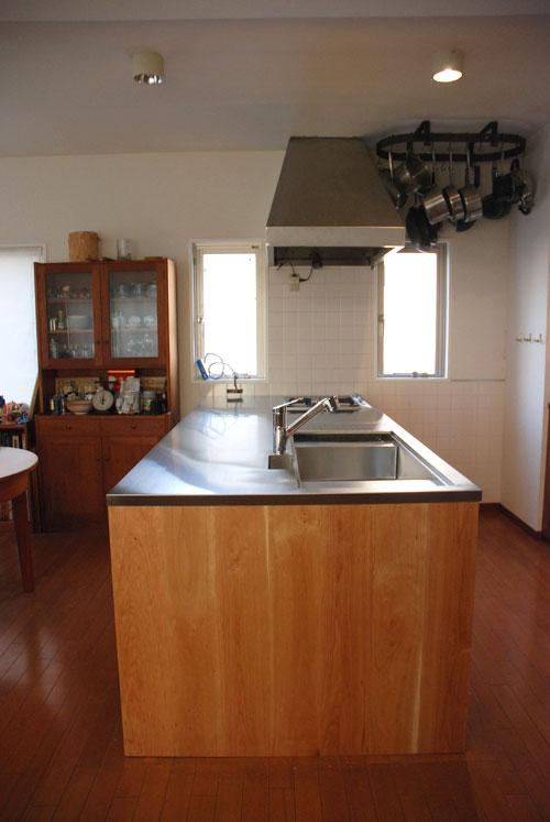 ガゲナウのIHとガスコンロの両方とミーレの電子レンジオーブンのあるキッチンリフォーム no.5062イメージ-10