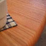 円形の110cm直径のちゃぶ台ローテーブルをオーダー家具製作