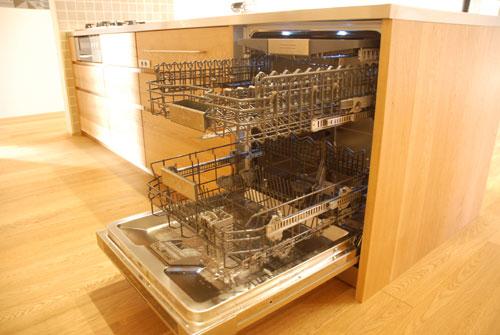 グローエ・グラシア電解水素整水器がついて水切りエリアのあるオーダーシンクのキッチン no.5065イメージ-3