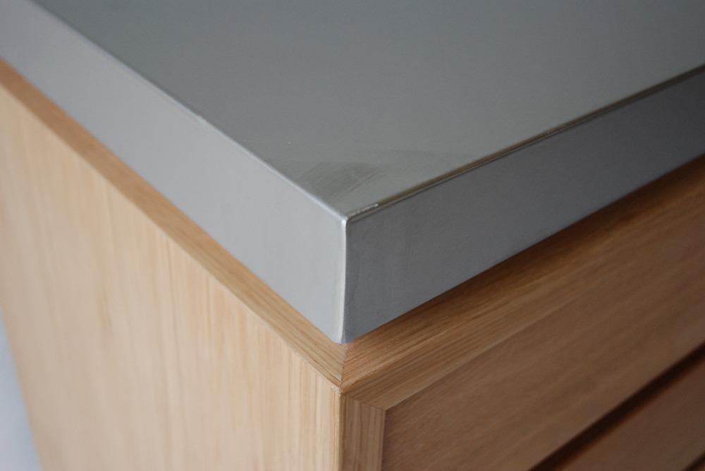 背板にコンセント穴のあるバイブレーションサンダーステンレスの食器棚 5069イメージ-5