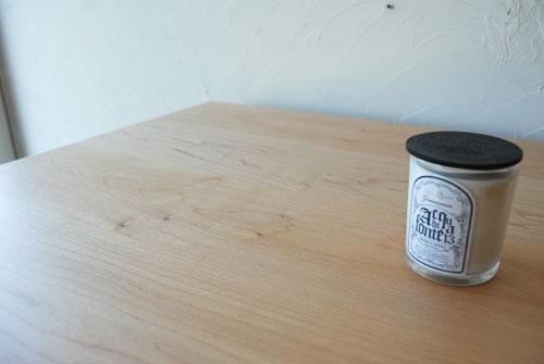 分割できる無垢の木とアイアン脚の丈夫なミーティングテーブル  3040イメージ-7