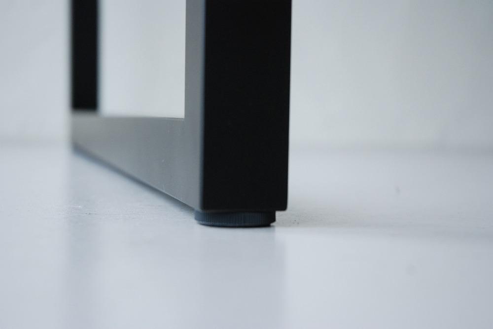 天板の下に棚のあるウォールナットのテーブル 3041イメージ-6