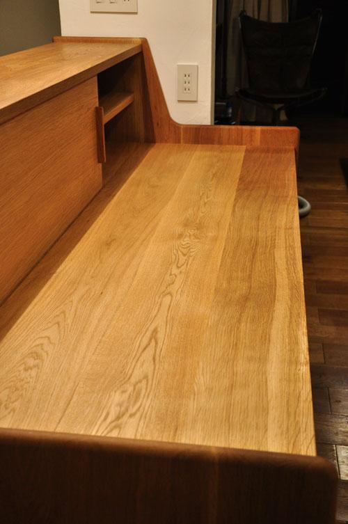 ダイニングとキッチンの間の壁にもなる、両面から取り出せるアイランド型の食器棚 5078イメージ-6