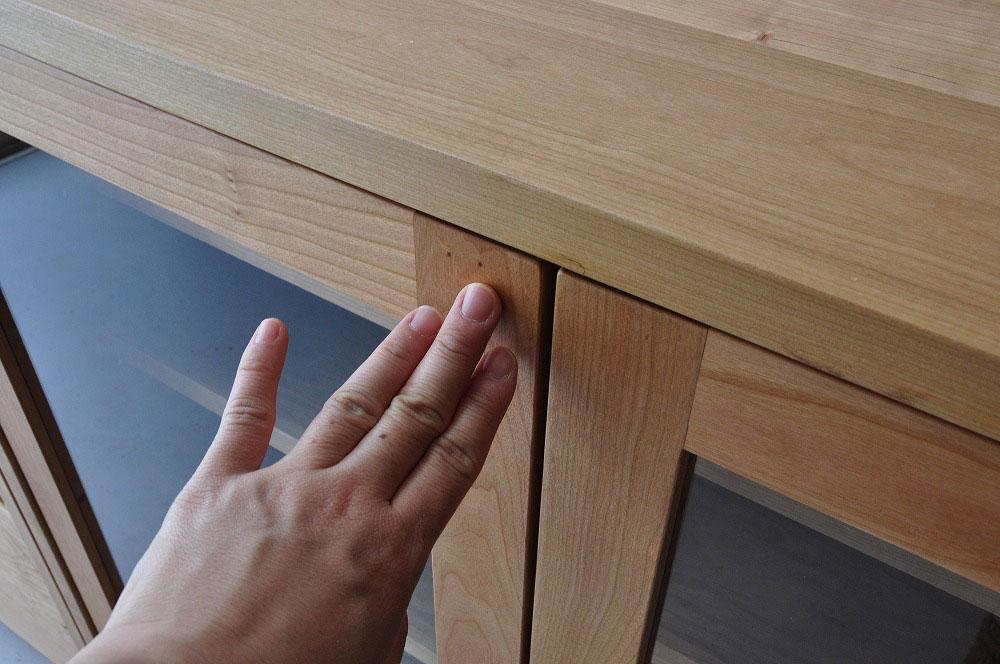 引出しチェストとガラス扉の食器棚を分割して使えるように製作 no.5087イメージ-9