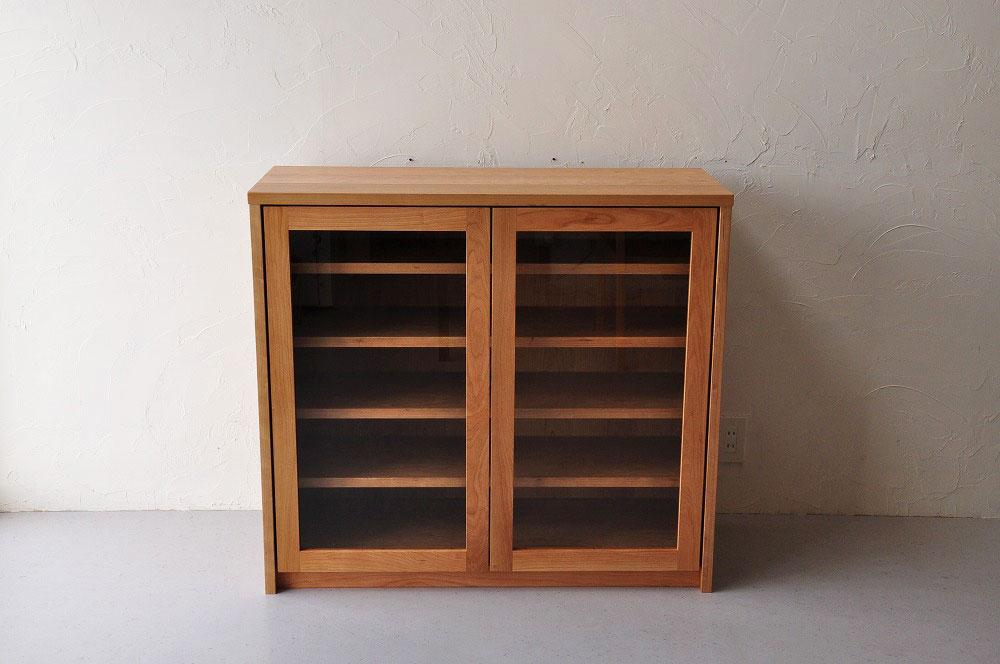 引出しチェストとガラス扉の食器棚を分割して使えるように製作 no.5087イメージ-7