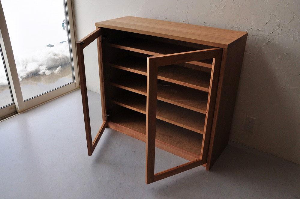 引出しチェストとガラス扉の食器棚を分割して使えるように製作 no.5087イメージ-8