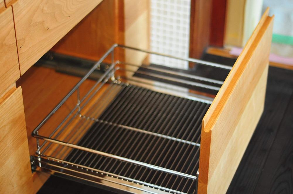 クォーツストーン天板の2型キッチン シンクとコンロをセパレート 5088イメージ-15