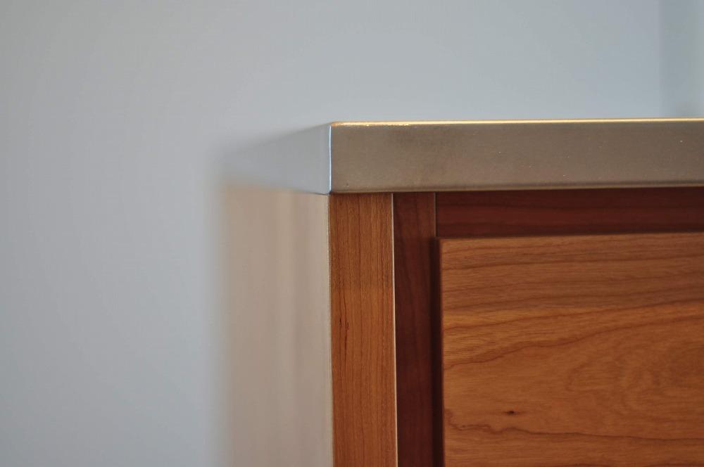 IHとガス併用のハイブリッドコンロのあるフロートタイプのキッチン 5089イメージ-9