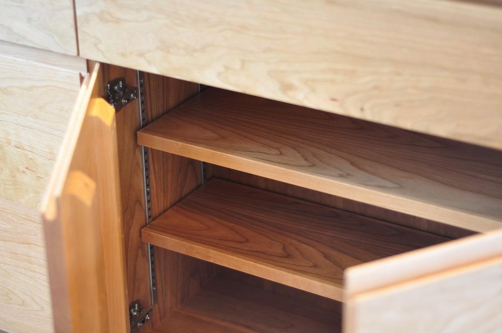 IHとガス併用のハイブリッドコンロのあるフロートタイプのキッチン 5089イメージ-7