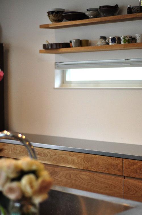 2.7mのキッチンカウンター オールステンレスキッチンと合わせたM様 5090イメージ-9