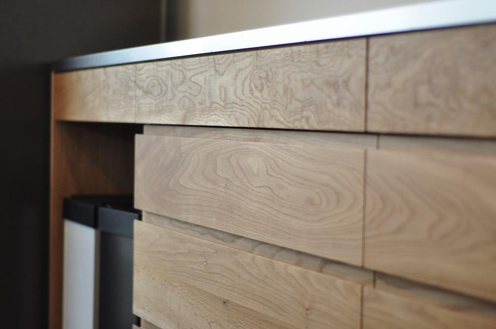 2.7mのキッチンカウンター オールステンレスキッチンと合わせたM様 5090イメージ-6