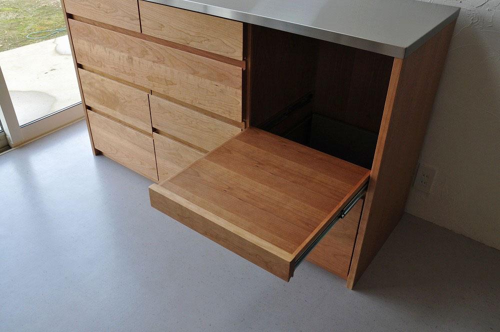 引出収納の高さも幅も全部オリジナルサイズのキッチンボード 5093イメージ-6