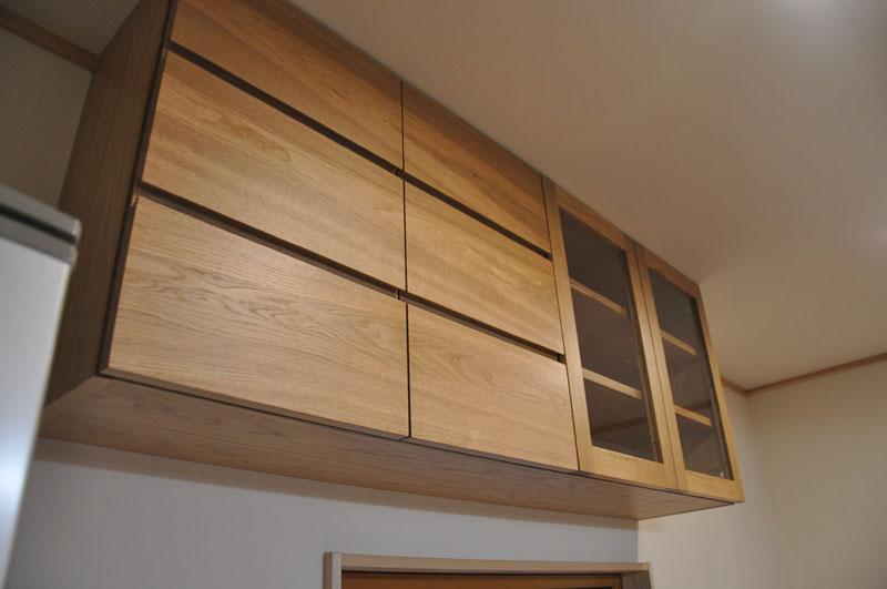 2層シンクと並べて使う吊戸棚と食器棚 5095イメージ-7