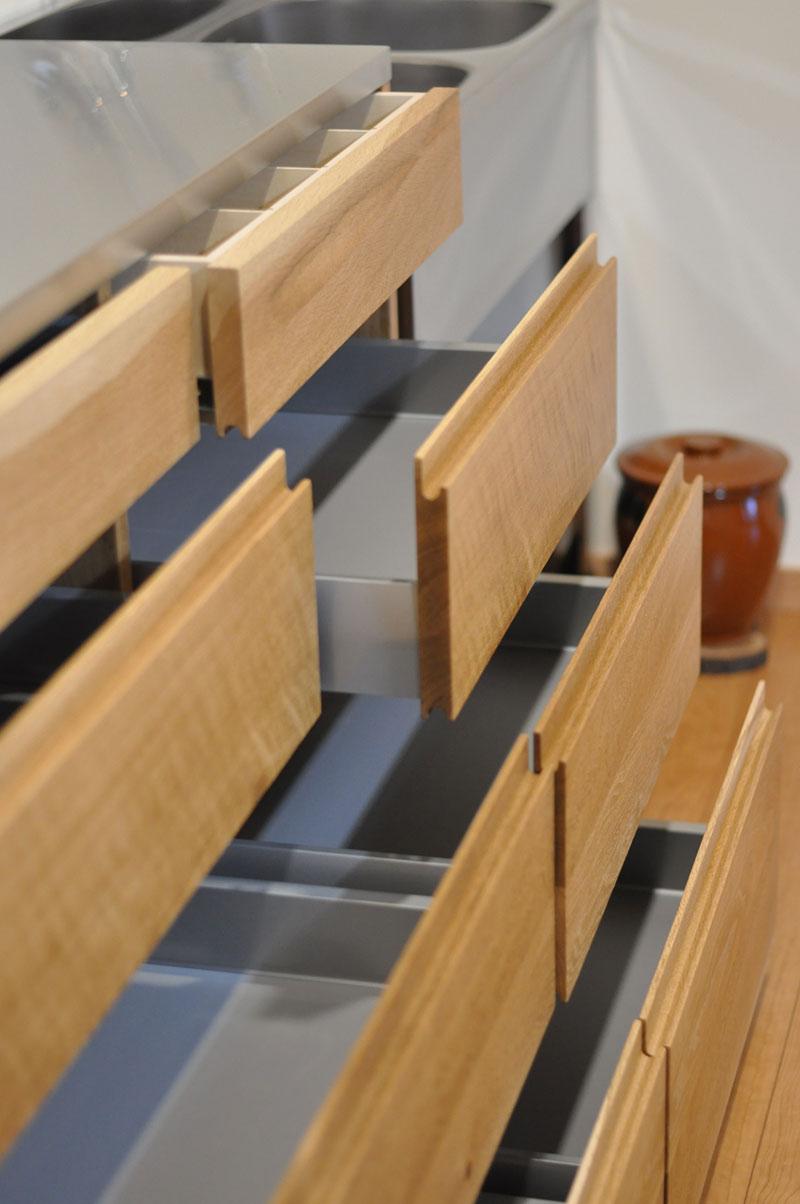 2層シンクと並べて使う吊戸棚と食器棚 5095イメージ-4
