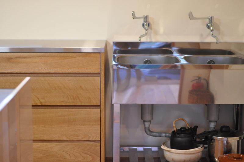 2層シンクと並べて使う吊戸棚と食器棚 5095イメージ-9