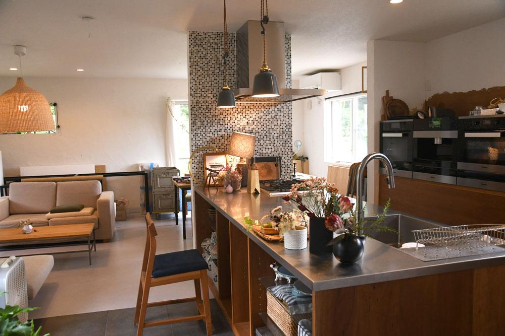 2021ショールーム側キッチン