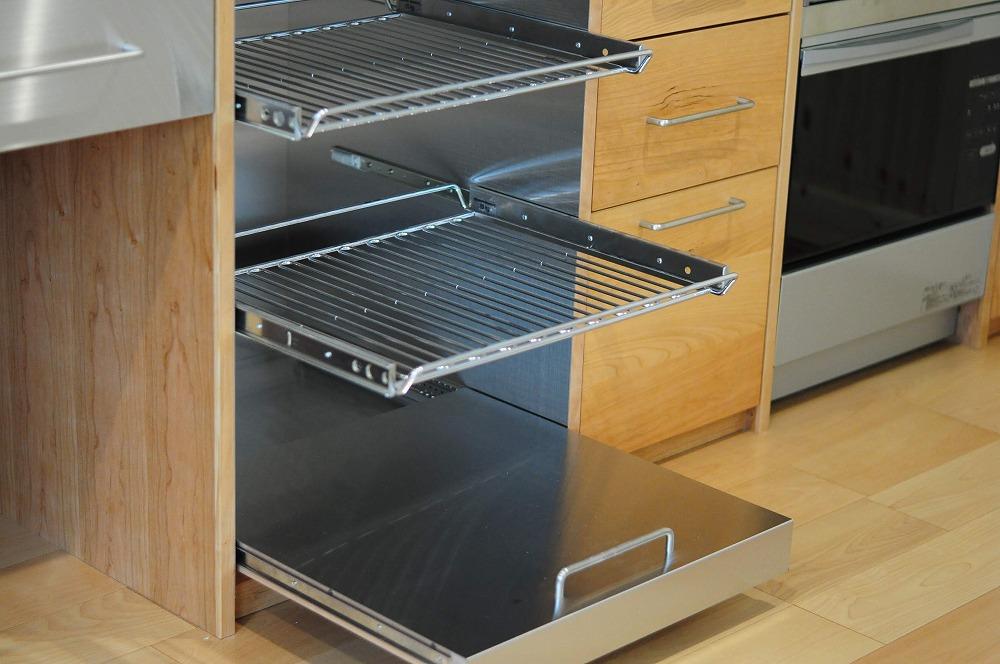 4m以上ある長いステンレスシンク一体天板とアスコ食洗機のあるキッチン 5096イメージ-10