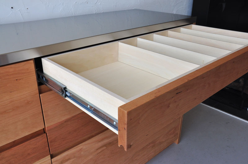 引出しのサイズが全部違う180cmの食器棚 5098イメージ-6
