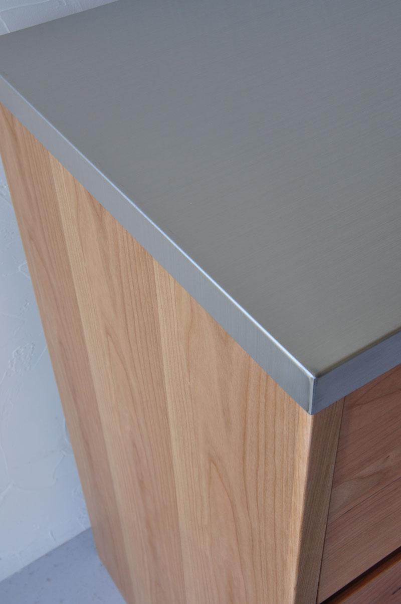 引出しのサイズが全部違う180cmの食器棚 5098イメージ-8